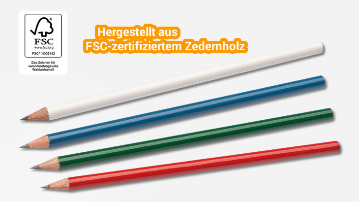 Holzbleistift Color (FSC®)