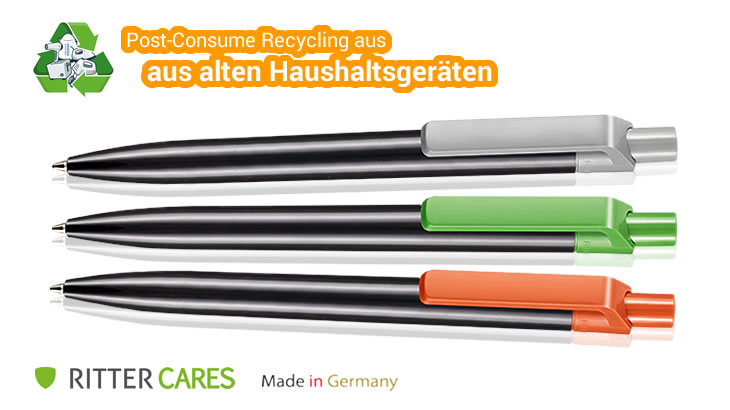 Kugelschreiber Insider Recycled aus Recycling Kunststoff