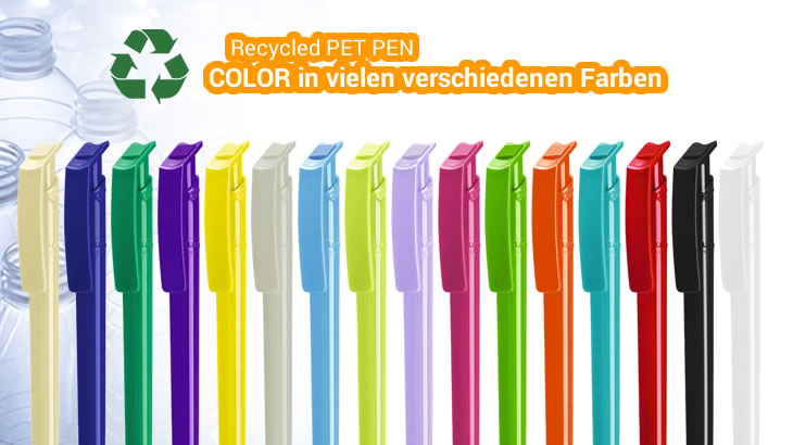 Recycled Pet Pen Color Farben